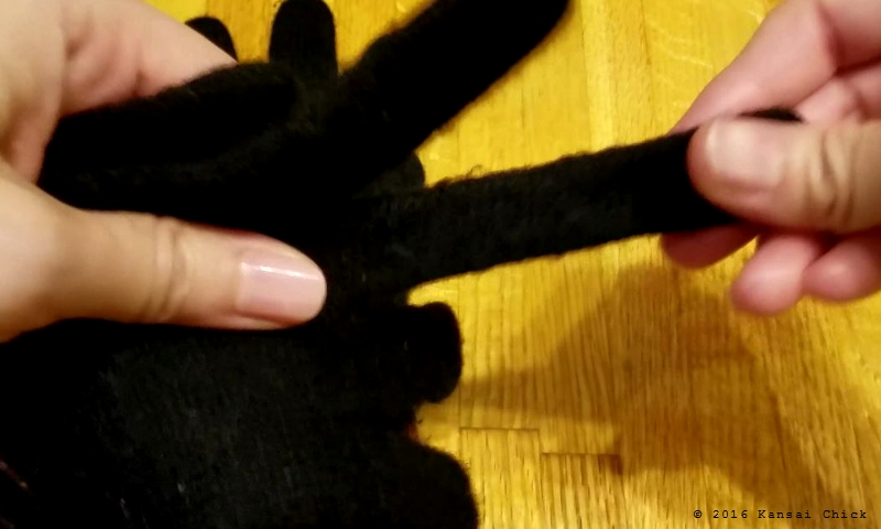 How to make Japanese Glove Puppet Step1