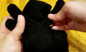 How to make Japanese Glove Puppet Step3a