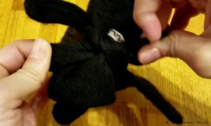 How to make Japanese Glove Puppet Step3b