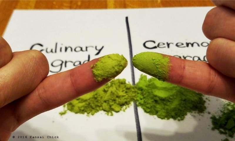Compare Culinary Grade Matcha and Ceremonial Grade Matcha