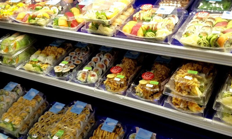 refrigerated sushi