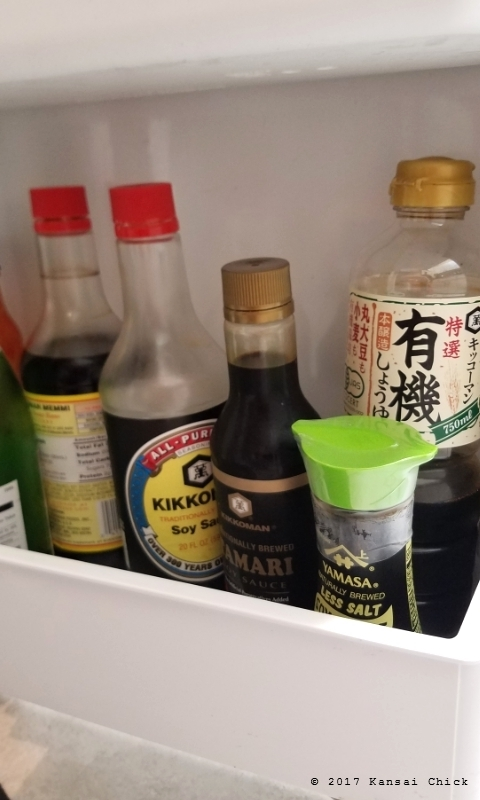 soy sauce in the fridge