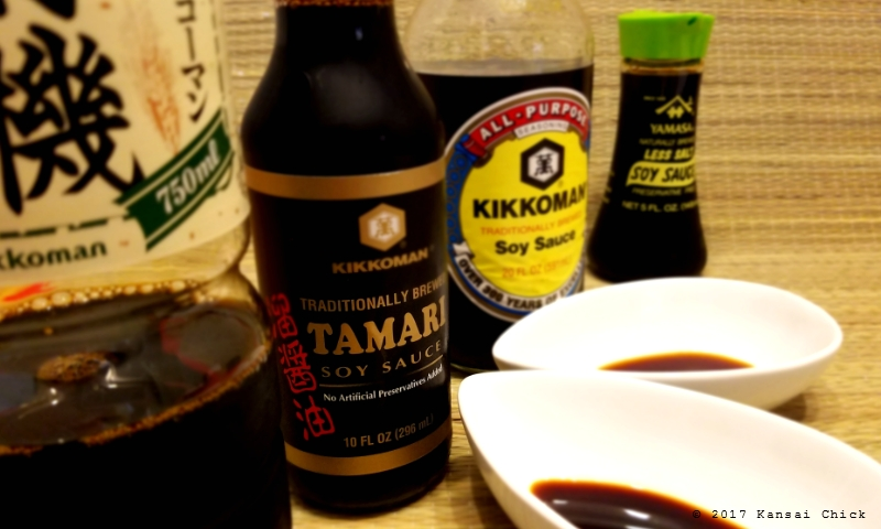 the difference between soy sauce