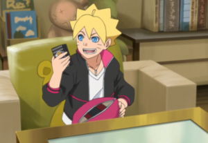 Japanese Kanji Shinobi Ninja Card Game in Boruto