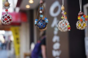 "Famous Glass Ball ""Chura-dama"" from Okinawa"