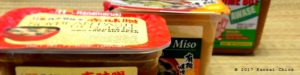 how to compare Japanese miso paste